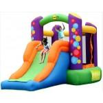 מתנפחים להשכרה לילדים - מתקן קומבו  בלונים 9236