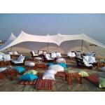 השכרת אוהל לייקרה 6*6 - צבע לבן