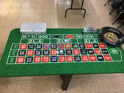 שולחן רולטה להשכרה